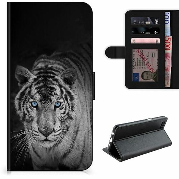 OnePlus 7 Lyxigt Fodral Tiger
