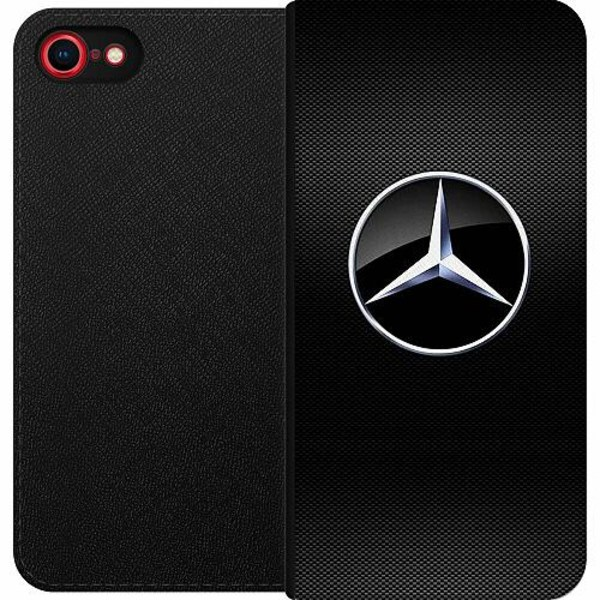Apple iPhone 8 Magnetic Wallet Case Mercedes