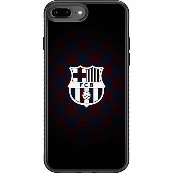 Apple iPhone 8 Plus Soft Case (Svart) FCB