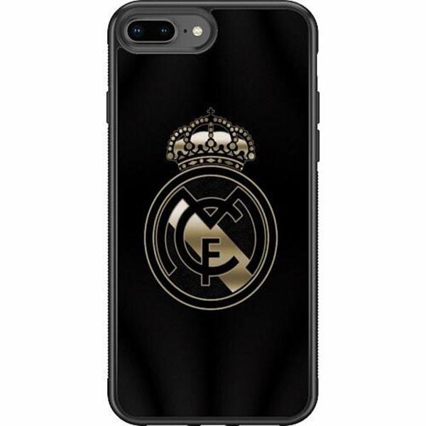 Apple iPhone 7 Plus Soft Case (Svart) Real Madrid CF