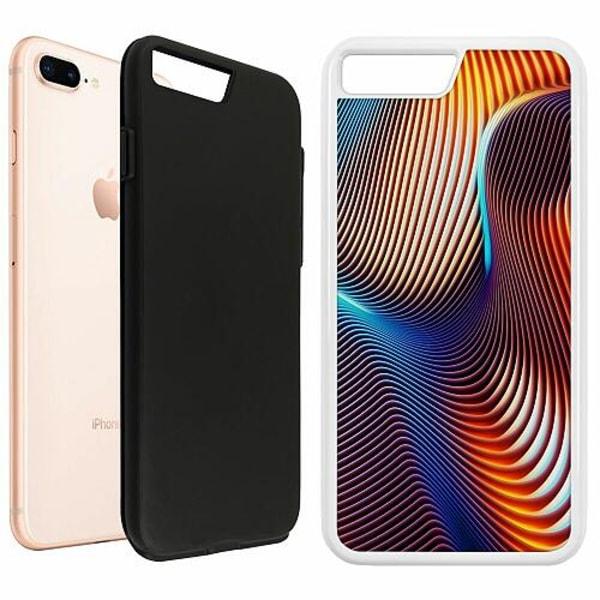 Apple iPhone 7 Plus Duo Case Vit Mönster