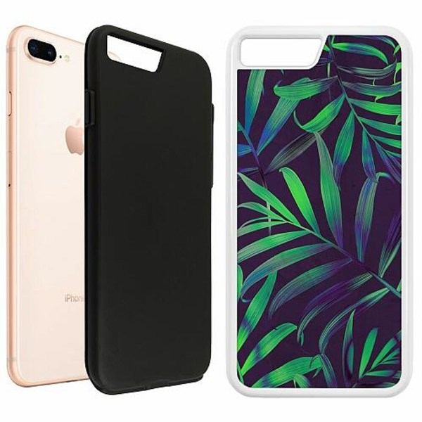 Apple iPhone 8 Plus Duo Case Vit Pattern