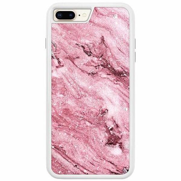 Apple iPhone 7 Plus Duo Case Vit Rosa