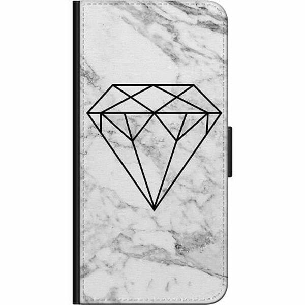 Apple iPhone 5 / 5s / SE Fodralväska Marmor Diamant