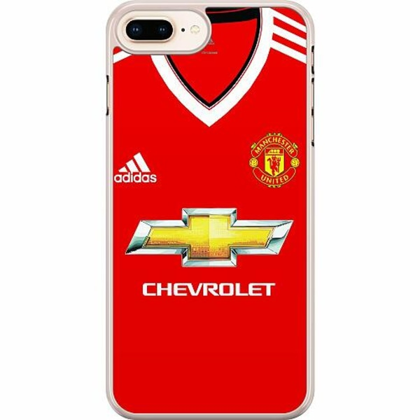 Apple iPhone 7 Plus Hard Case (Transparent) Manchester United FC