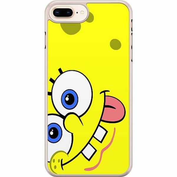 Apple iPhone 7 Plus Hard Case (Transparent) SpongeBob Fyrkant