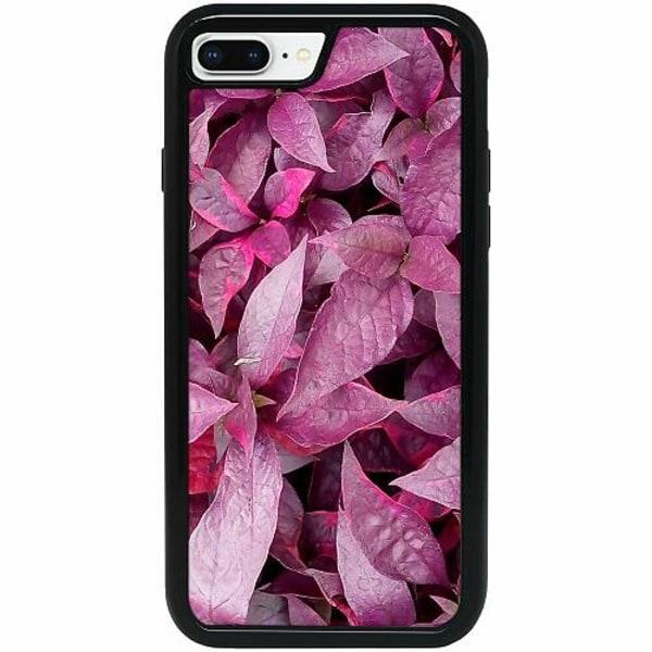 Apple iPhone 7 Plus Heavy Duty 2IN1 Pink Shrubs