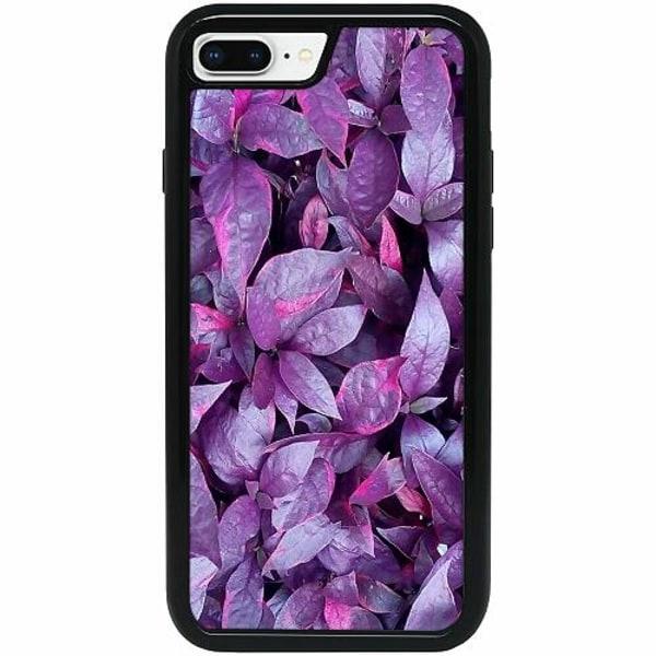 Apple iPhone 7 Plus Heavy Duty 2IN1 Purple Shrubs