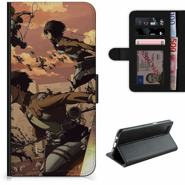 Apple iPhone 6 / 6S Lyxigt Fodral Attack On Titan