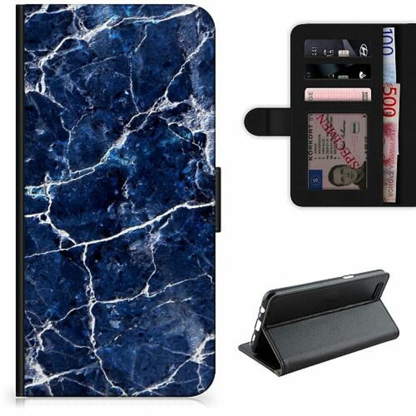 Apple iPhone 12 Pro Lyxigt Fodral Marbles x2