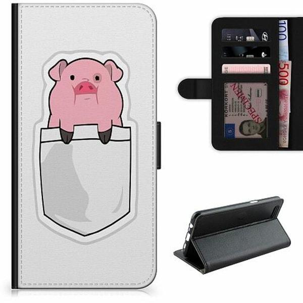 Apple iPhone 12 Pro Lyxigt Fodral Pocket Pig