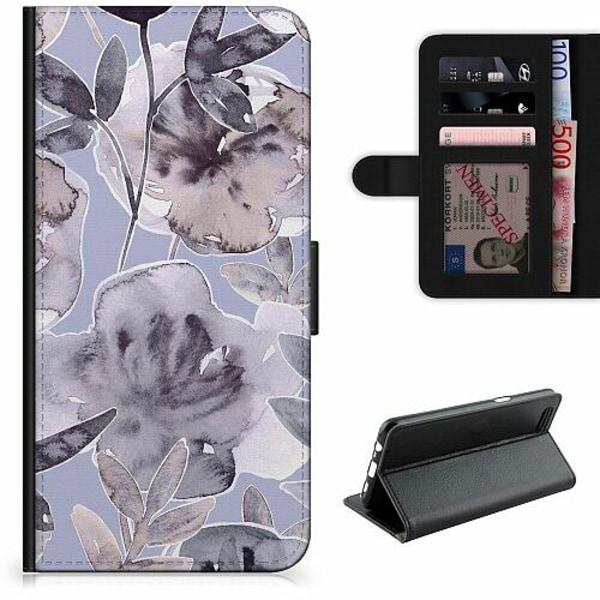 Apple iPhone 12 Pro Lyxigt Fodral Watermark Petals