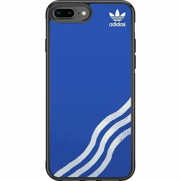 Apple iPhone 8 Plus Soft Case (Svart) Adidas