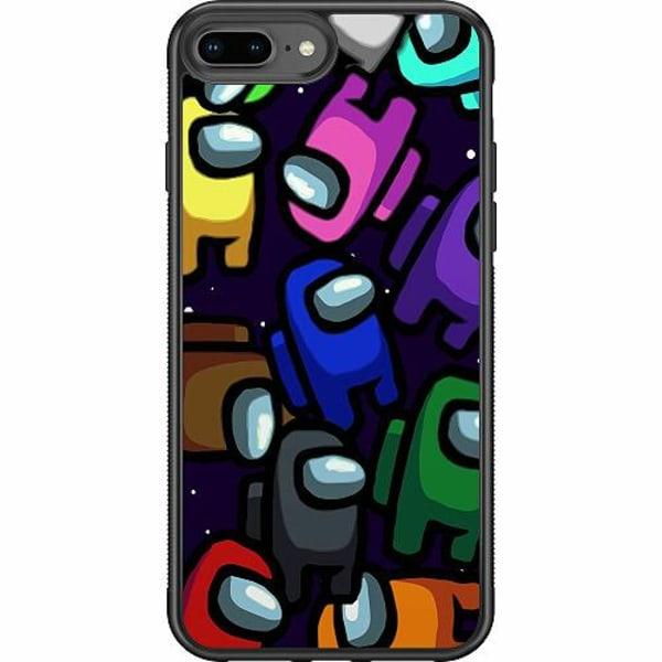 Apple iPhone 7 Plus Soft Case (Svart) Among Us