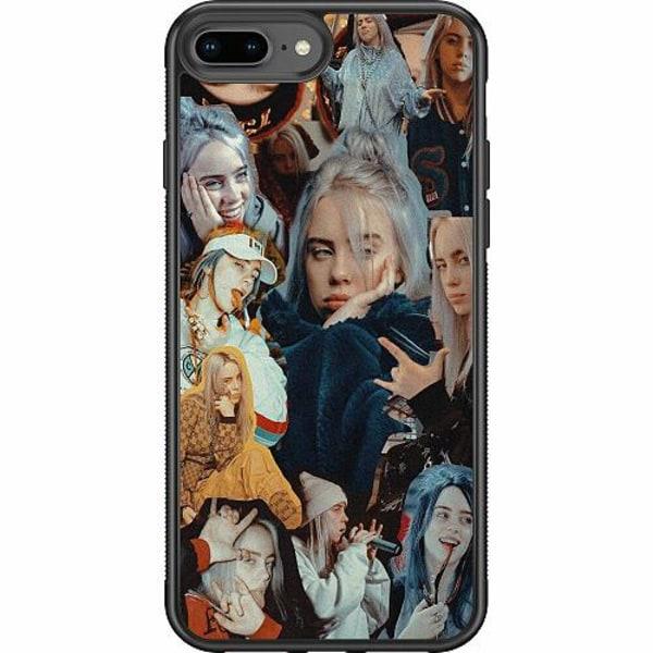 Apple iPhone 8 Plus Soft Case (Svart) Billie Eilish 2021