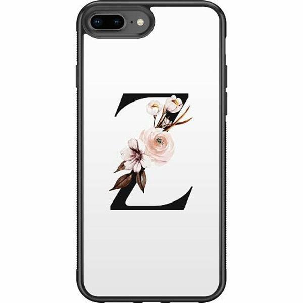 Apple iPhone 7 Plus Soft Case (Svart) Bokstäver