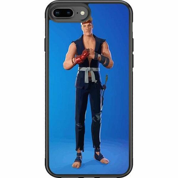 Apple iPhone 8 Plus Soft Case (Svart) Fortnite 2021