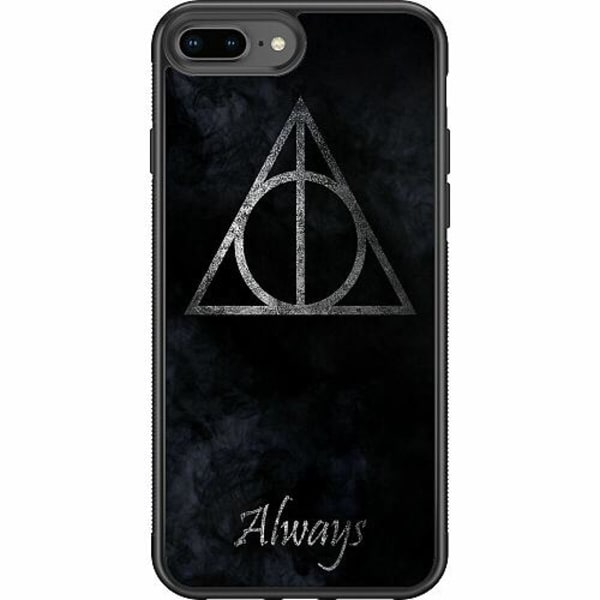 Apple iPhone 8 Plus Soft Case (Svart) Harry Potter