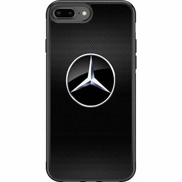Apple iPhone 8 Plus Soft Case (Svart) Mercedes