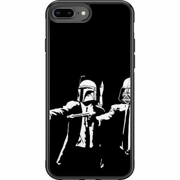 Apple iPhone 8 Plus Soft Case (Svart) Star Wars