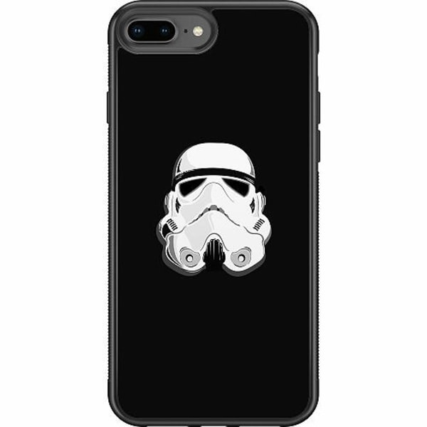 Apple iPhone 7 Plus Soft Case (Svart) Star Wars
