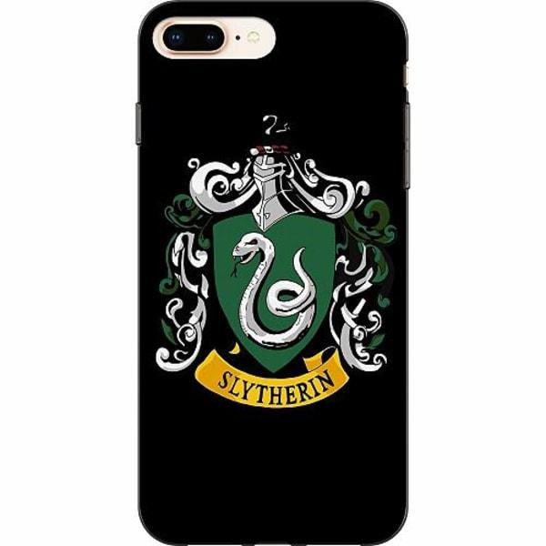 Apple iPhone 8 Plus TPU Mobilskal Harry Potter - Slytherin
