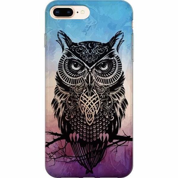Apple iPhone 8 Plus TPU Mobilskal Owl