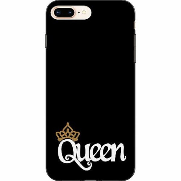 Apple iPhone 8 Plus TPU Mobilskal Queen 01