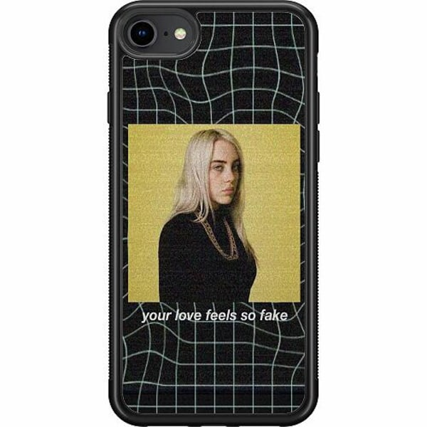 Apple iPhone SE (2020) Soft Case (Svart) Billie Eilish 2021