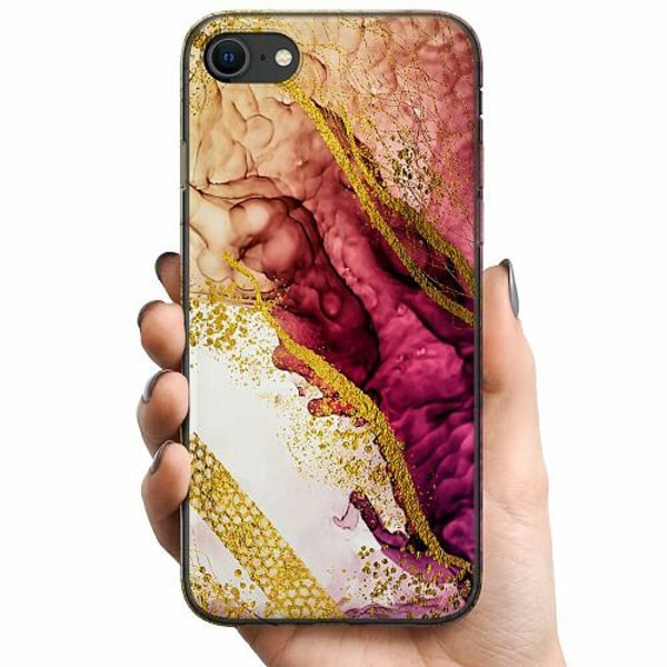Apple iPhone 7 TPU Mobilskal Magenta