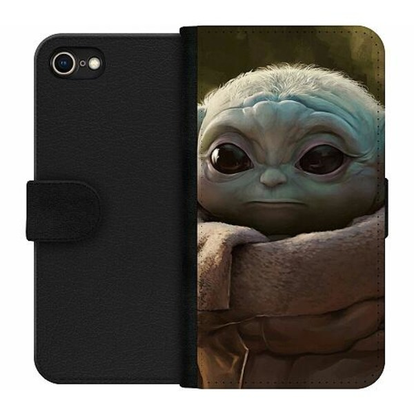 Apple iPhone 8 Wallet Case Baby Yoda
