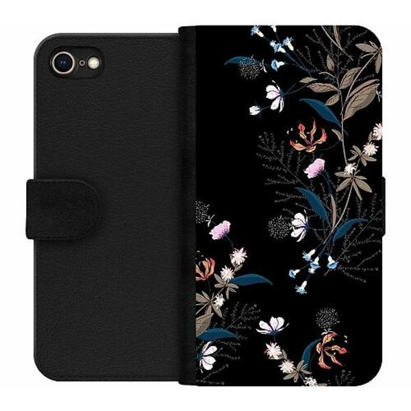 Apple iPhone 8 Wallet Case Blommor