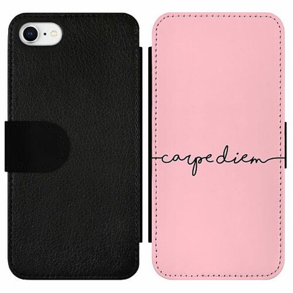 Apple iPhone 7 Wallet Slim Case carpe diem