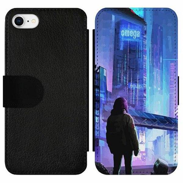 Apple iPhone 7 Wallet Slim Case Cyberpunk 2077