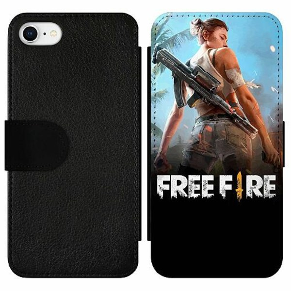 Apple iPhone 7 Wallet Slim Case Free Fire