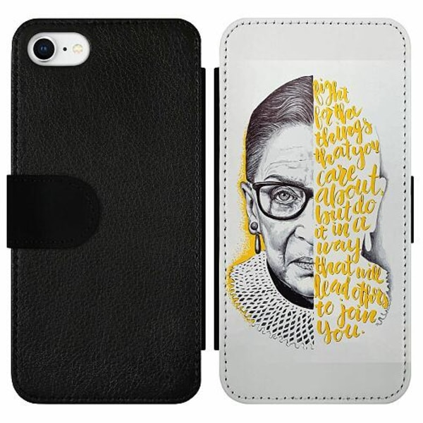 Apple iPhone 7 Wallet Slim Case Ruth Bader Ginsburg (RBG)