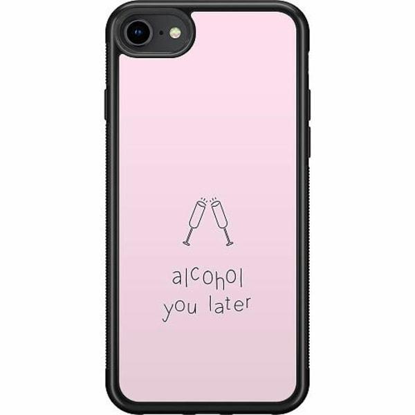 Apple iPhone SE (2020) Soft Case (Svart) Sprit