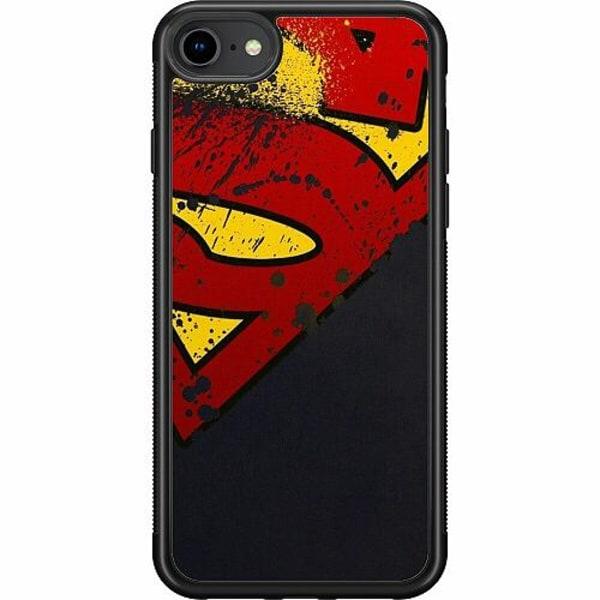 Apple iPhone SE (2020) Soft Case (Svart) SUPER