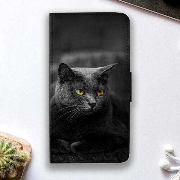 Apple iPhone XS Max Fodralskal Black Cat