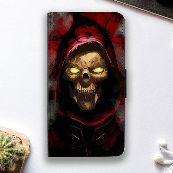 Samsung Galaxy A02s Fodralskal Doctor Red Skull