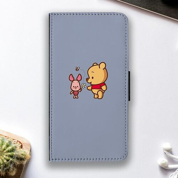 Samsung Galaxy A02s Fodralskal Happy Bear With Tiny Pig