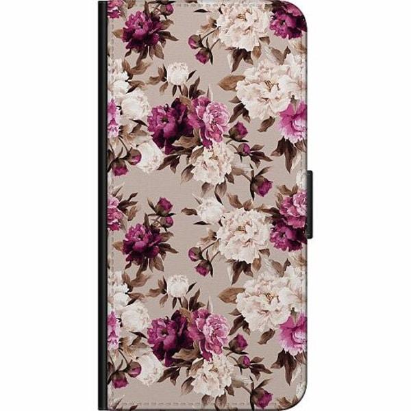Samsung Galaxy S9+ Fodralväska Blommor