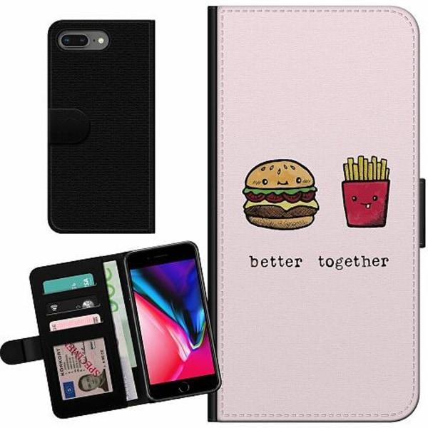 Apple iPhone 8 Plus Billigt Fodral Together