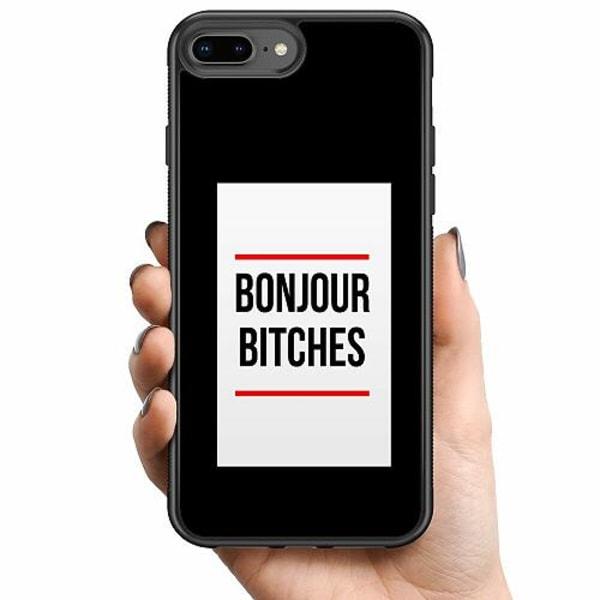 Apple iPhone 8 Plus Billigt mobilskal - Bonjour Bitches