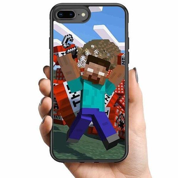 Apple iPhone 8 Plus Billigt mobilskal - MineCraft