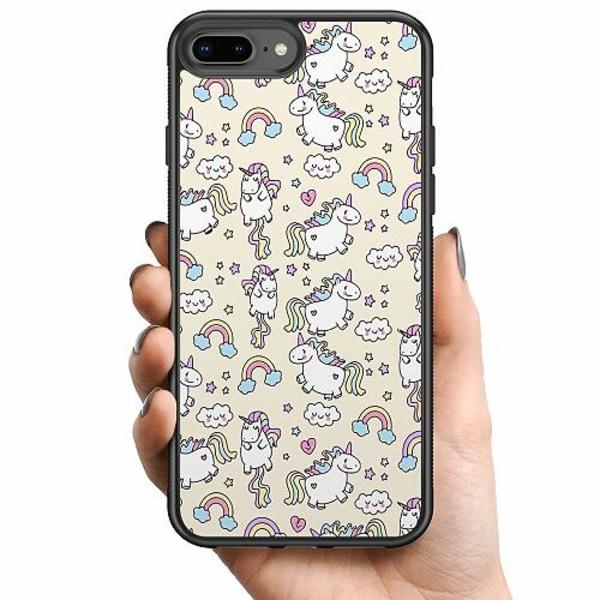 Apple iPhone 8 Plus Billigt mobilskal - UNICORN
