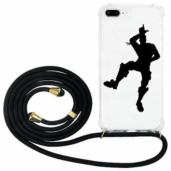 Apple iPhone 8 Plus GLAM. Case Band Guld Fortnite