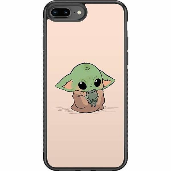 Apple iPhone 8 Plus Soft Case (Svart) Kawaii