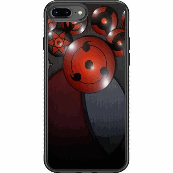Apple iPhone 7 Plus Soft Case (Svart) Naruto