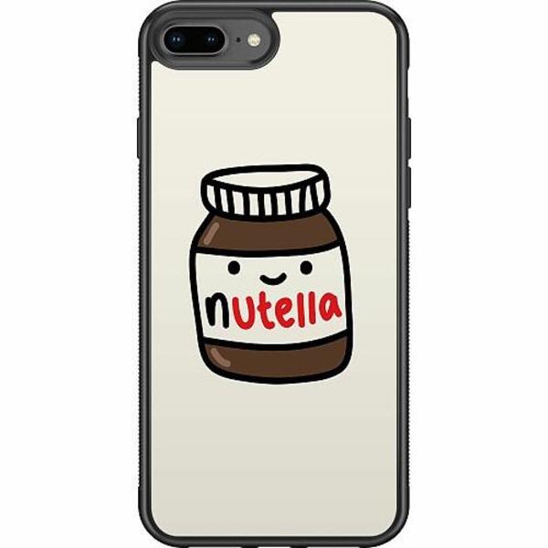 Apple iPhone 8 Plus Soft Case (Svart) Nutella